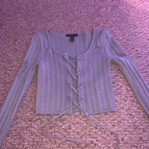 Forever 21 cardigan / long sleeve top